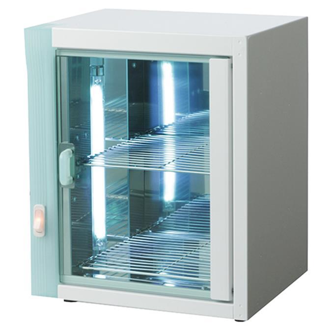 T-811 コンパクトライザー 小型紫外線消毒器 理容室、美容室、ネイルサロン、エステティックサロン ハサミ ブラシ ニッパーなどの消毒 [8324017]