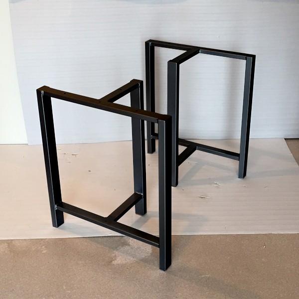 一枚板用自在脚 鉄製 ダイニングテーブル ローテーブル 座卓 アイアン