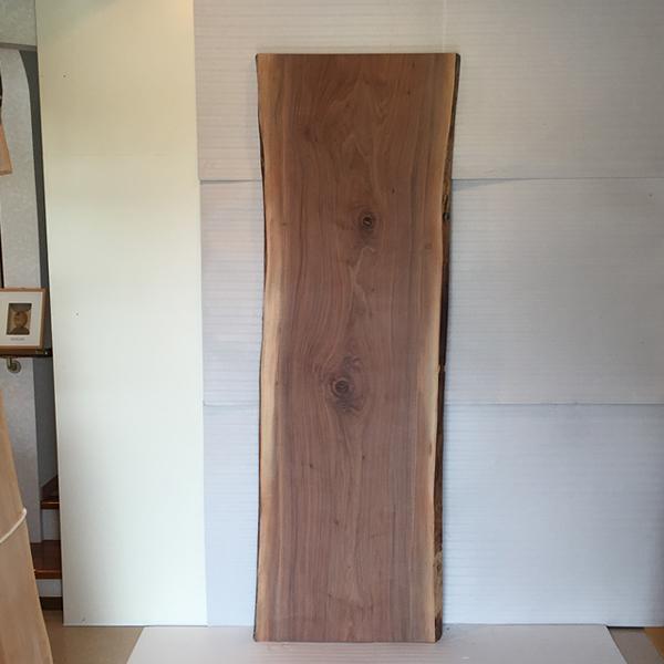 天然銘木一枚板 ブラックウォールナット ダイニングテーブル 天板のみ 座卓 テーブルなどに 天板 一枚板 無垢 天然木 ws-61