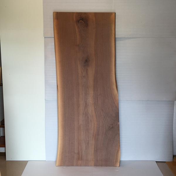 【8/1ポイント最大28倍!】天然銘木一枚板 ブラックウォールナット ダイニングテーブル 天板のみ 座卓 テーブルなどに 天板 一枚板 無垢 天然木 ws-62
