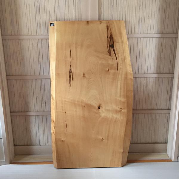 よりすぐりの天然銘木を集めました。こだわりの一枚板をあなたの空間に。質の良い一枚板を是非ご覧ください。 天然銘木一枚板 栃 トチ ダイニングテーブル 天板のみ 座卓 テーブルなどに 天板 一枚板 無垢 天然木 クリア塗装仕上げ ws-235