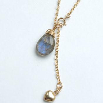 46c6a24a460d3c ... Ladies j jewelry ladies necklace natural stones labradolitenecklace  necklace K14GF necklaces Goldfield 14 KGF