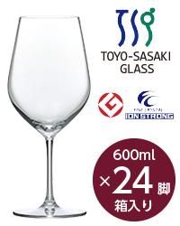 【包装不可】 東洋佐々木ガラス ディアマン ボルドー 24脚セット 品番:RN-11283CS wineglass 赤ワイン グラス 日本製 ケース販売