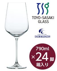 【包装不可】 東洋佐々木ガラス モンターニュ ボルドー 24脚セット 品番:RN-12283CS wineglass 赤ワイン グラス 日本製 ケース販売