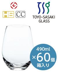 【包装不可】 東洋佐々木ガラス ウォーターバリエーション タンブラー 60個セット 品番:T-24102HS glass グラス 日本製 ケース販売