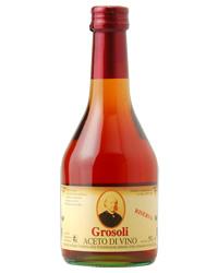 ショップ オブ 値引き ザ イヤー 5年連続受賞店舗 包装不可 ワインビネガー 500ml 赤 グロソリ ついに入荷 アドリアーノ