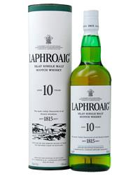 ショップ 初売り オブ ザ イヤー 5年連続受賞店舗 包装不可 商い ラフロイグ 43度 whisky_YLP10 750ml 10年 正規 箱付