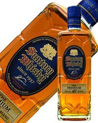 三得利威士忌高级角瓶43度700ml