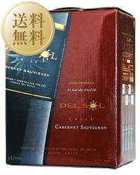 【送料無料】 ボックスワイン【包装不可】 デル ソル デル カベルネソーヴィニヨン(赤) BIB(バックインボックス) 2ケース BOXワイン 3000ml×8 BOXワイン ボックスワイン 赤ワイン, 【内祝い】:227a1f47 --- sunward.msk.ru