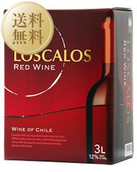 【送料無料】【包装不可】 ロスカロス 赤 2ケース 3000ml×8 バッグインボックス ボックスワイン 赤ワイン