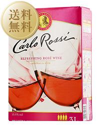 【送料無料】【包装不可】 カルロ ロッシ(カルロロッシ) ロゼ(ボックスワイン) 2ケース 3000ml×8 ロゼワイン