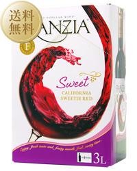 【あす楽】【送料無料】【包装不可】 フランジア ワインタップ スイーティレッド(ボックスワイン) 2ケース 3000ml ×8 赤ワイン