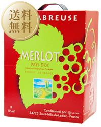 【送料無料】【包装不可】 ジャンジャン メルロー BIB(バックインボックス) 1ケース 3000ml×4 BOXワイン ボックスワイン 赤ワイン