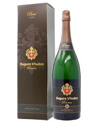 【包装不可】 セグラヴューダス ブルート レゼルバ ダブルマグナムボトル 箱付 3000ml 正規 スパークリングワイン
