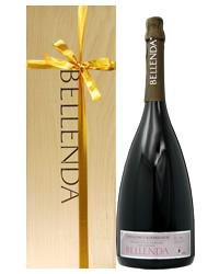 リボン掛けラッピング済み ベッレンダ プロセッコ ヴァルドッビアーデネ ブリュット ダブルマグナム 木箱入り 3000ml 正規 スパークリングワイン