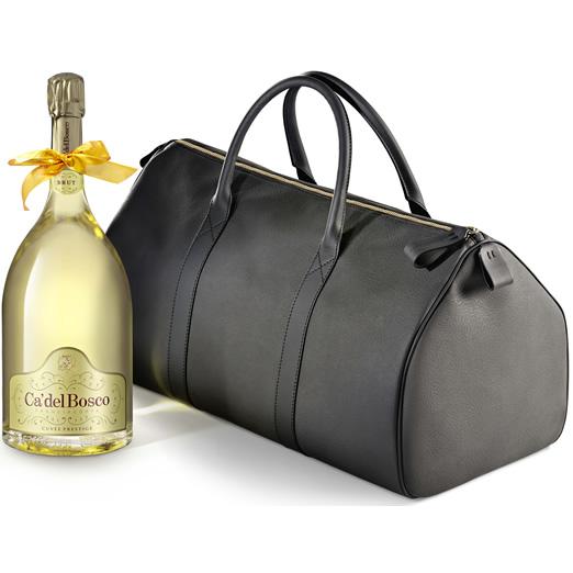 ネックリボンラッピング済みカ デル ボスコフランチャコルタ キュヴェ プレステージNV ダブルマグナム バッグ入り 3000ml スパークリングワイン