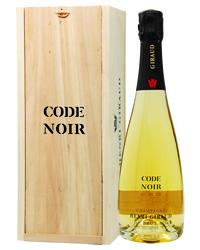 【包装不可】 アンリ ジローコード ノワール ブリュット木箱入り 750ml シャンパン シャンパーニュ フランス