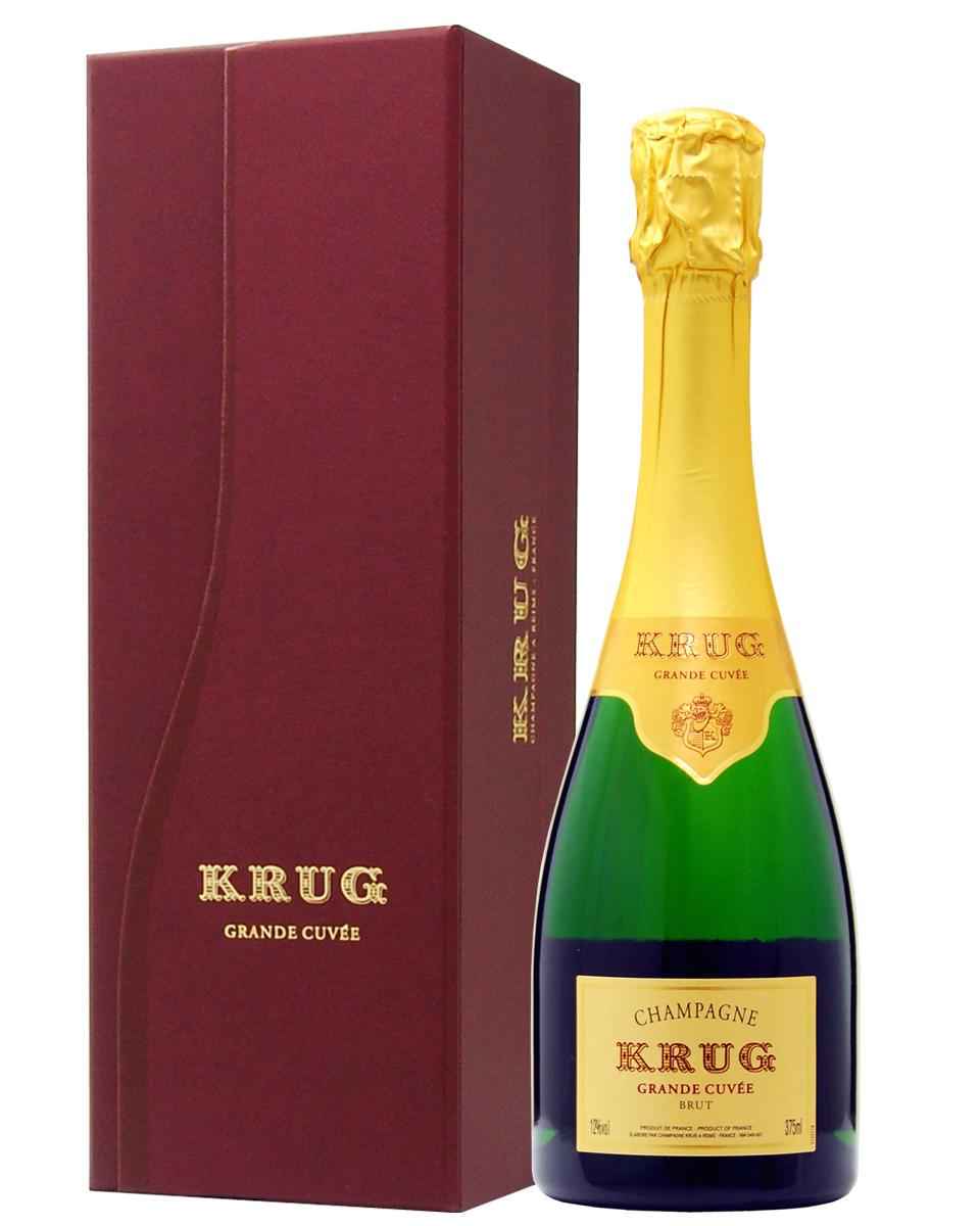 【あす楽】 クリュッグ グランド キュヴェ ハーフ 箱付 375ml 正規 シャンパン シャンパーニュ フランス