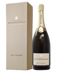 【包装不可】 ルイ ロデレール ブリュット プルミエ NV マグナム 箱付 1500ml 正規 フランス シャンパン シャンパーニュ