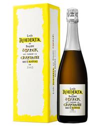ルイ ロデレール ブリュット ナチュール フィリップ スタルクモデル 2009 ギフトボックス 750ml 正規 シャンパン シャンパーニュ フランス