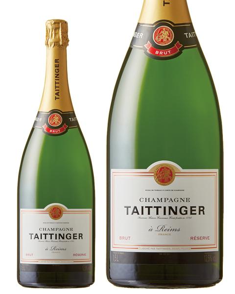 【あす楽】【包装不可】 テタンジェ ブリュット レゼルブ マグナム 1500ml 正規 シャンパン シャンパーニュ フランス