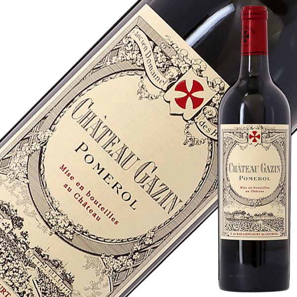【あす楽】 シャトー ガザン 2017 750ml 赤ワイン メルロー フランス ボルドー