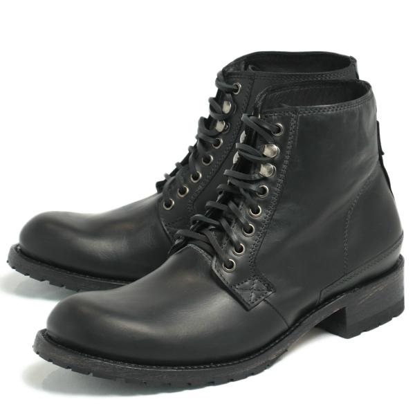 SENDRA BOOTS / センドラブーツ / グッドイヤーウェルテッド製法 ワークブーツ 革靴 / ブラック NEGRO 11397-black 100