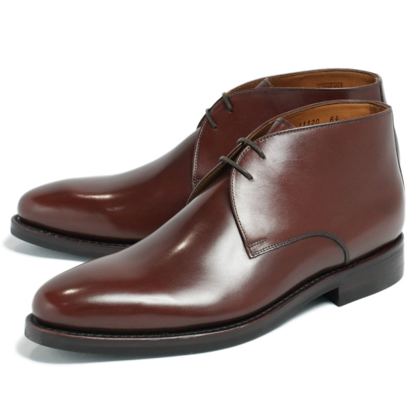JALAN SRIWIJAYA / ジャラン スリウァヤ /ダイナイトソール デュプイカーフ チャッカブーツ シューズ 革靴 98322 / ブラウン js98322-br 100