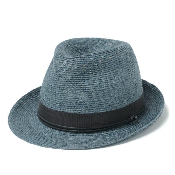 HELEN KAMINSKI / ヘレンカミスキー / カミンスキーXY VALDES ラフィア パナマ ハット 中折れ帽子 / ブルー COSTA-GRAMI 70 18615135-bu