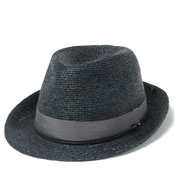 HELEN KAMINSKI / ヘレンカミスキー / カミンスキーXY VALDES ラフィア パナマ ハット 中折れ帽子 / ダークネイビー PACIFIC-PEWT 18615135-dna 100