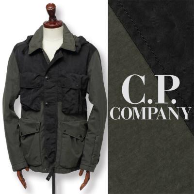 シーピーカンパニー / C.P. COMPANY / マルチポケット 中綿 フィールドジャケット / カーキ / 05cmow188a-kac 100
