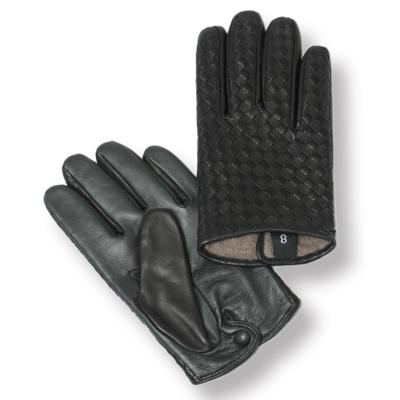 GLOVES グローブス スマホ対応 新色追加して再販 ラムレザー イントレチャート グローブ ca1662b-blov 100 × 一部予約 ブラック オリーブ 手袋