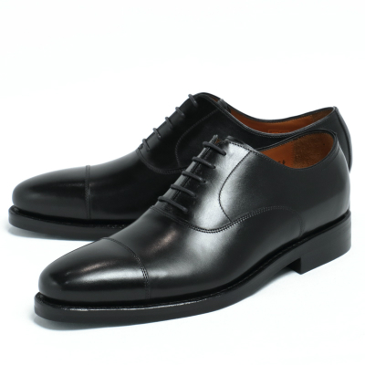 JALAN SRIWIJAYA / ダイナイトソール デュプイカーフ ストレートチップ シューズ 革靴 / ブラック / j98321-bl 100