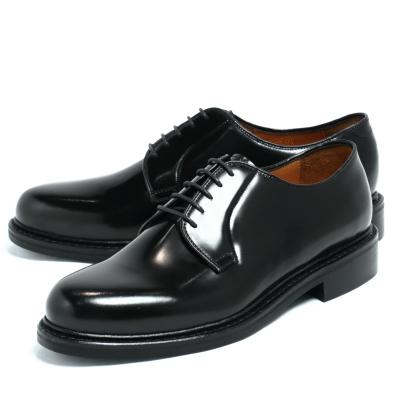 JALAN SRIWIJAYA / ジャラン スリウァヤ /ハイシャイン ダイナイトソール 外羽根 プレーントゥ シューズ 革靴 / ブラック BLACK / j98348-blh 100