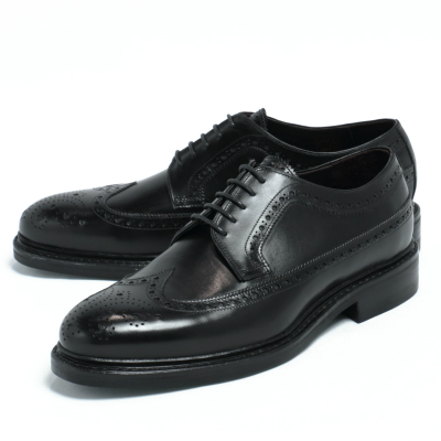 JALAN SRIWIJAYA / ダイナイトソール デュプイカーフ ウイングチップ シューズ 革靴 / ブラック / j98652-bl 100