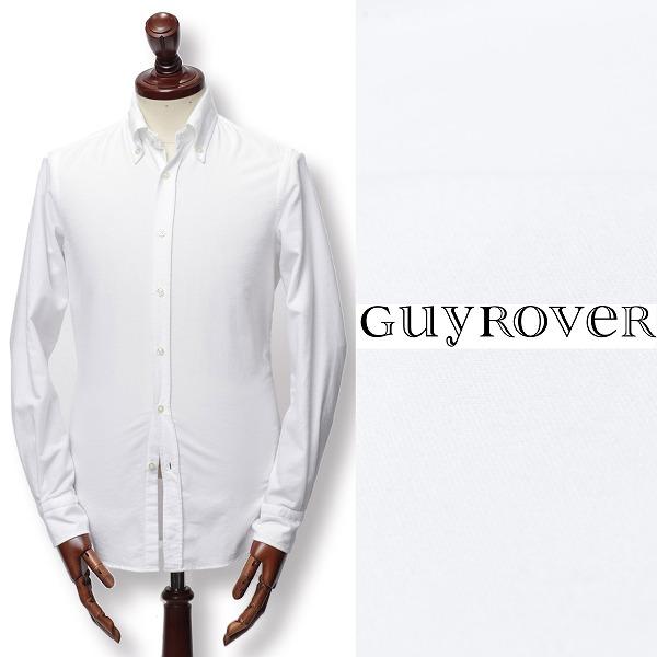 GUY ROVER / ギ ローバー / フランネル / ボタンダウン / コットン / シャツ / ホワイト w1940l-w 100