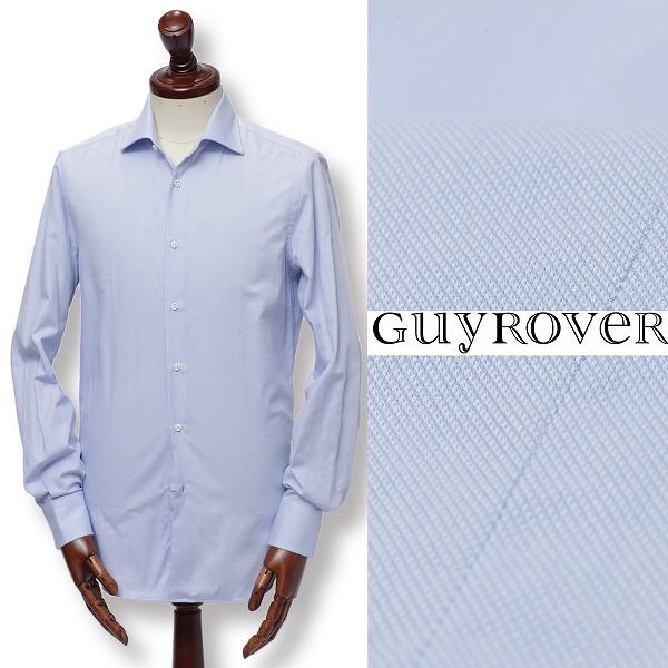 GUY ROVER / ギ ローバー / コットン / ドビー織り / ドレスシャツ / ライトブルー w2670a-lbu 100