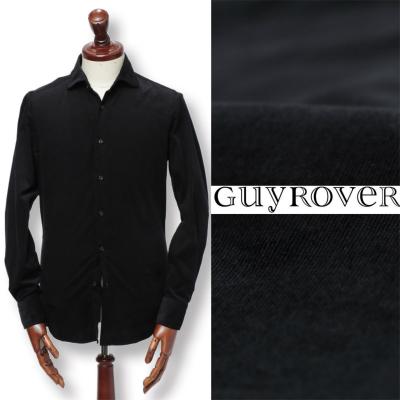 GUY ROVER / ギ ローバー / コーデュロイ コットン シャツ / ブラック / w2670l-bl 100