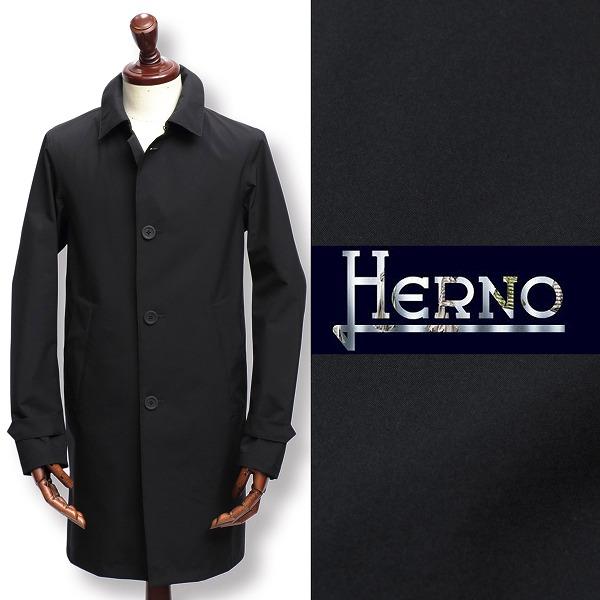 ヘルノ / HERNO / Laminar / ラミナー / シリーズ / GORETEX / ステンカラー / スプリングコート / ブラック 9300 im021ul-bl 100