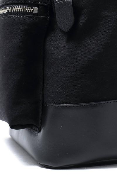 PELLE MORBIDA / ペッレモルビダ / Ondaシリーズ / LIMONTA社 / NAYCERナイロン / バックパック / ブラック on102-bl 100