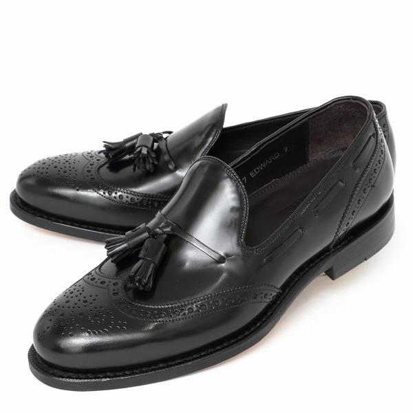 JALAN SRIWIJAYA / ハイシャイン / ウィングチップ / タッセルローファー / シューズ / 革靴 / ブラック 98847-bl 100