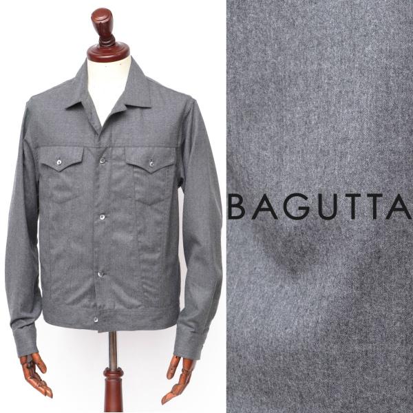 Bagutta / バグッタ / ウール / Gシャツ / ブルゾン / チャコールグレー clintgl-gy 100 【返品不可】