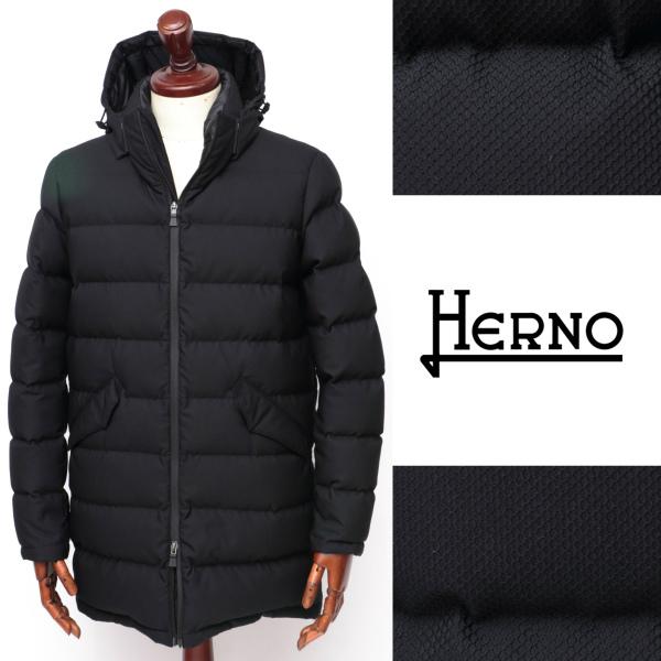 ヘルノ / HERNO / POLA-TECH / 超軽量 / ビーバーファー / ダウンコート / ブラック 3300 pi0588u-bl 100