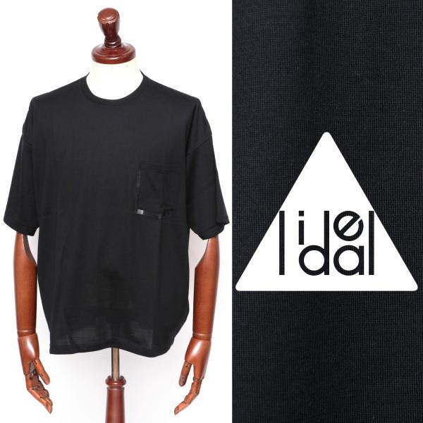 LIDEAL / リディアル / JUDUS / メリノウール / カットソー / ブラック 95281014-bl 100 【返品不可】