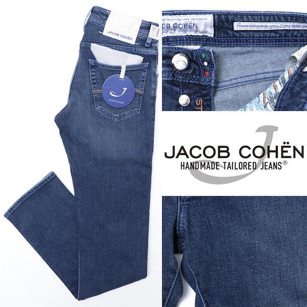 JACOB COHEN / ヤコブ コーエン / J622 / COMF / ストレッチ / デニムパンツ / ブルー 10344-na 100