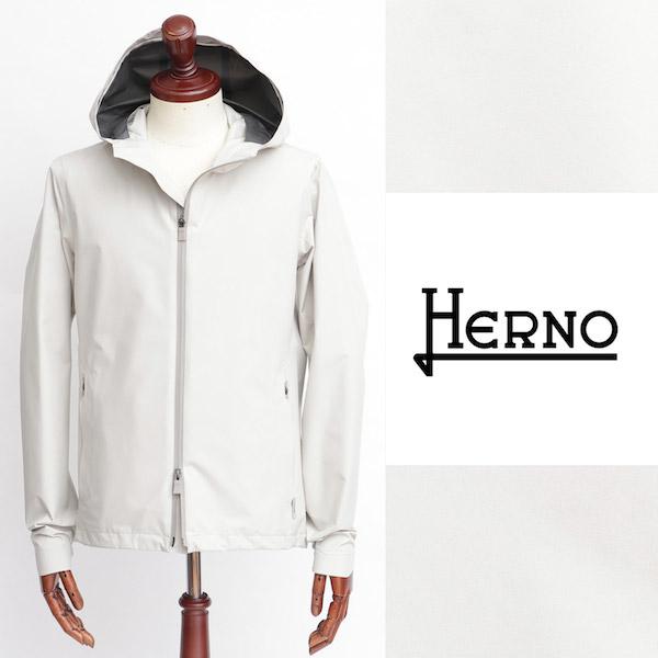 ヘルノ / HERNO / GORE-TEX PACLITE Laminar / フーデッド / マウンテンパーカ / オフホワイト 1300 gi050ul-ow 100
