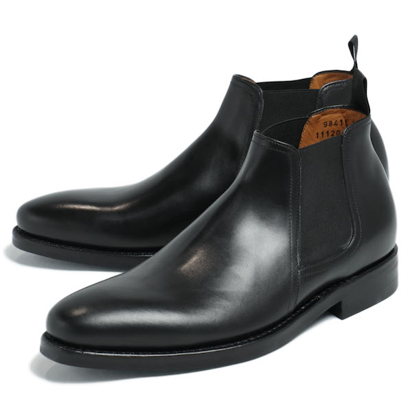 JALAN SRIWIJAYA / ジャラン スリウァヤ / ダイナイトソール / デュプイカーフ / ショート / サイドゴアブーツ / シューズ / 革靴 / 98411 / ブラック js98411-bl 100