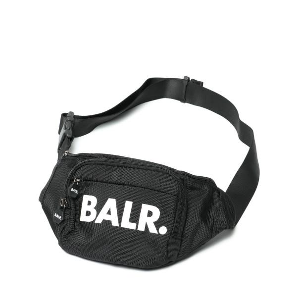 BALR ボーラー U-SERIES WAIST PACK ナイロン 100 激安卸販売新品 ボディバッグ 特売 ブラック 130610009-bl ウエストバッグ