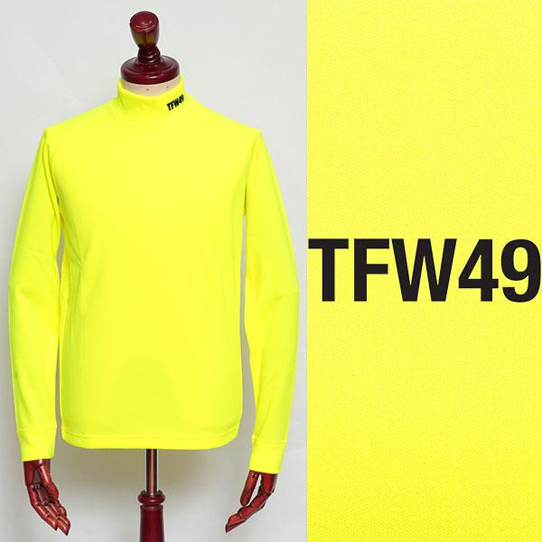セール 特集 TFW49 ティーエフダブリューフォーティーナイン ポリエステル 奉呈 モックネック カットソー t102020006-ye イエロー 100