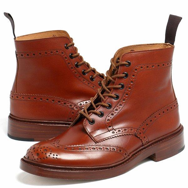 Tricker's / トリッカーズ / Malton カントリー ブーツ 2508 / ブラウン Marron Antique【送料無料】 tm2508-31a-brown 100 【返品不可】